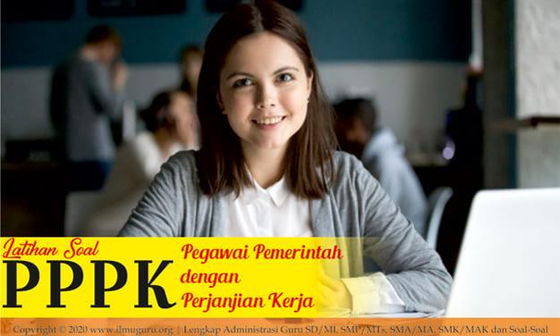 Soal PPPK 2021 Materi Kemampuan Kompetensi Bidang Guru