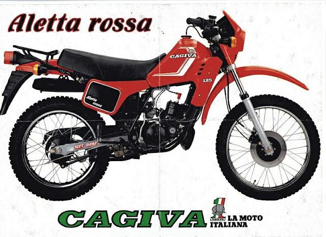 CAGIVA SXT 125 Aletta Rossa 11390 1 - Os italianos inventaram moda...  mas a moda não pegou!