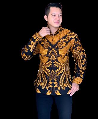 Kemeja Batik Pria Solo Lengan Panjang KBP 13