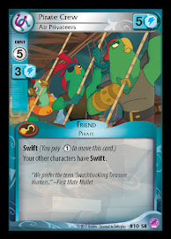 MLP Pirate Crew, Air Privateers Seaquestria and Beyond CCG Card