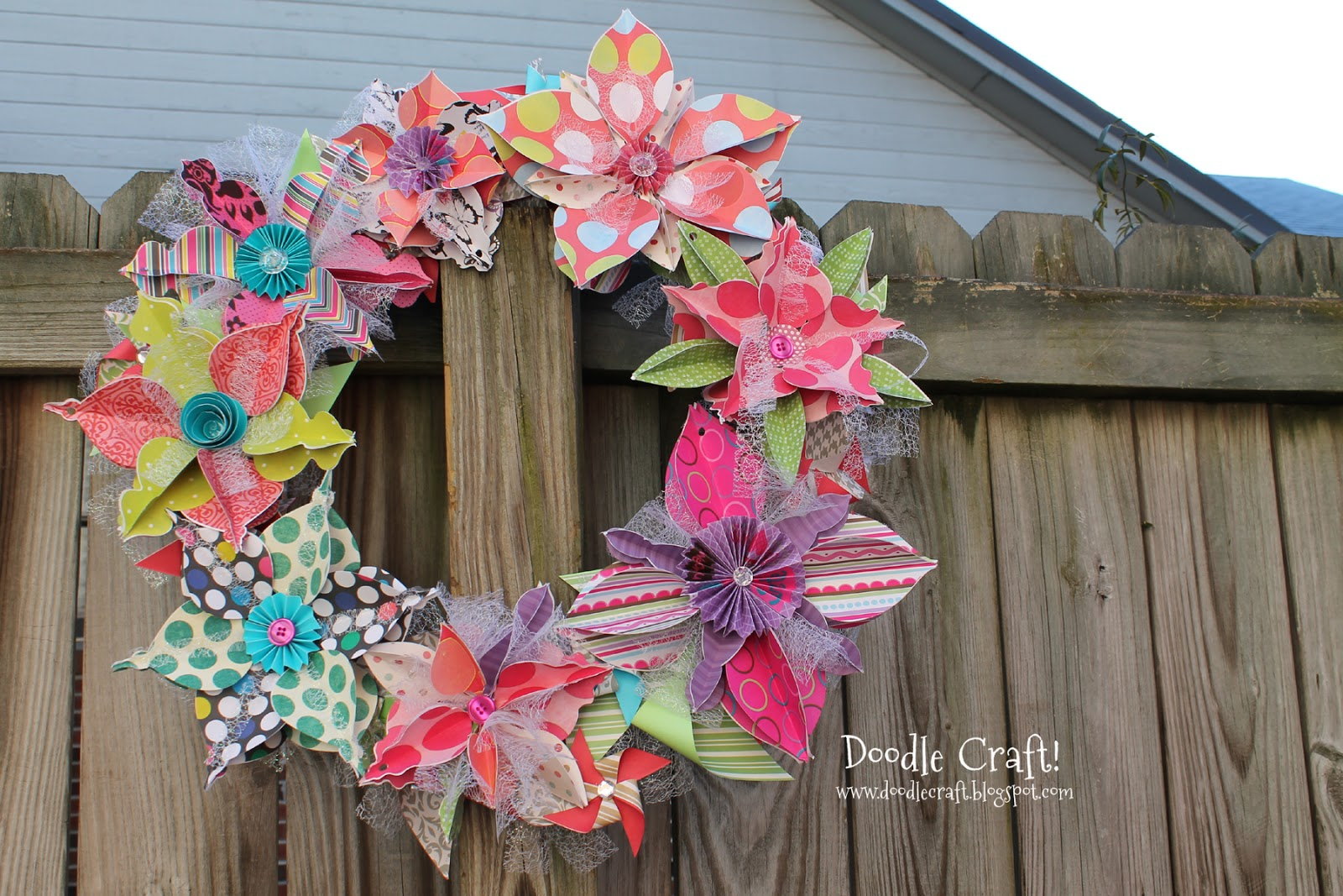 Image Result For Christmas Craft Paper Wreath