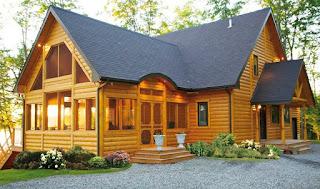 Desain Rumah Kayu Cantik Unik Sederhana Bahan Inspirasi