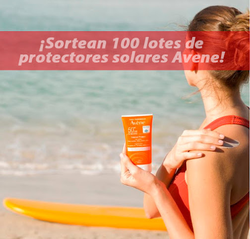 sorteo 100 lotes Avène