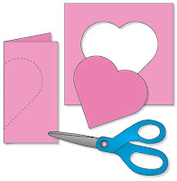 Fold Paper to Cut a Symmetrical Heart