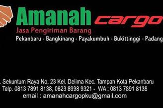 Lowongan Amanah Cargo Pekanbaru Oktober 2019