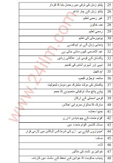 Matric 10th Class Pakistan Studies Guess Paper 2020-10th Class Pak studies Guess Paper