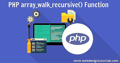 PHP array_walk_recursive() Function