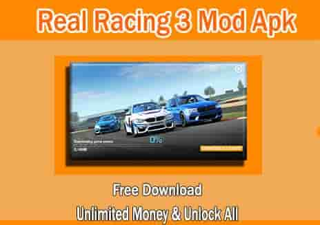 Download Real Racing 3 Mod Apk MOD Unlimited Money