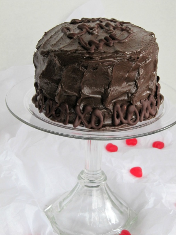 Once Upon A Chocolate Life Chocolate Cake With Fudge