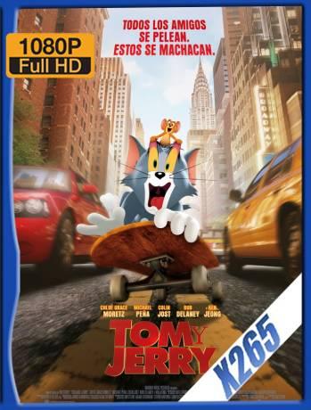 Tom y Jerry (2021) HMAX WEB-DL x265 [1080p] Latino [GoogleDrive] Ivan092