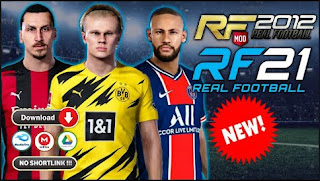 Download Real Football 2012 Special Mod RF 21 New Kits & Update Transfer