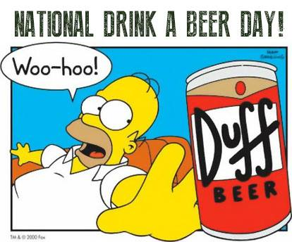National Drink Beer Day Wishes pics free download