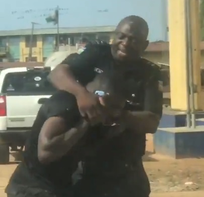 Coronavirus Lockdown: Police Officer Arrested For 'Wrongful Enforcement' Of Lockdown Order In Lagos (Video)
