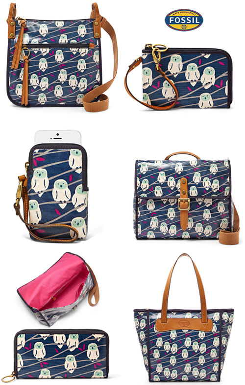 Fossil New Bag Collection