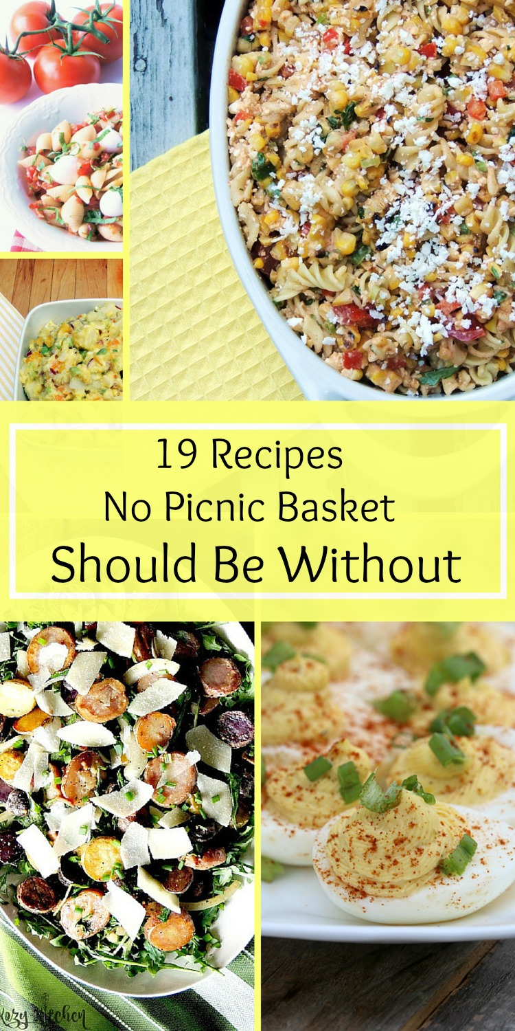 19 Recipes No Picnic Basket Should Be Without