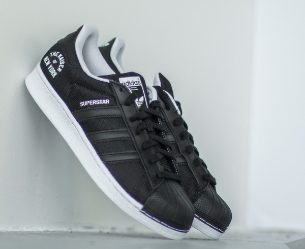 détaillant en ligne 7309b d29d9 adidas superstar new york black and white adidas superstars