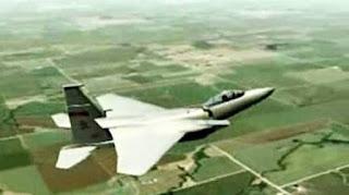 Pesawat Tempur F-15C AS Pernah Patah Jadi Dua