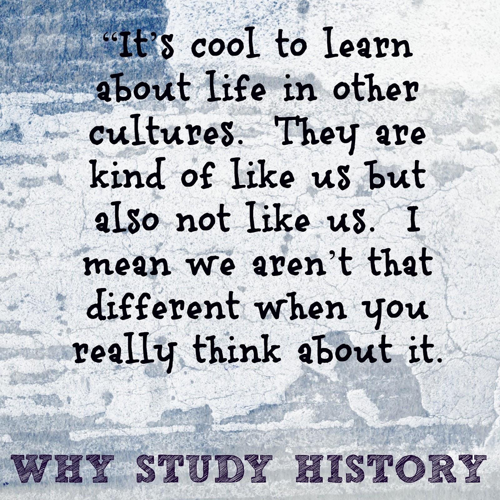 Why study society