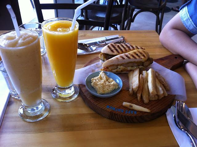 Grilled Liempo Sandwich Kafe Batwan by Sarsa