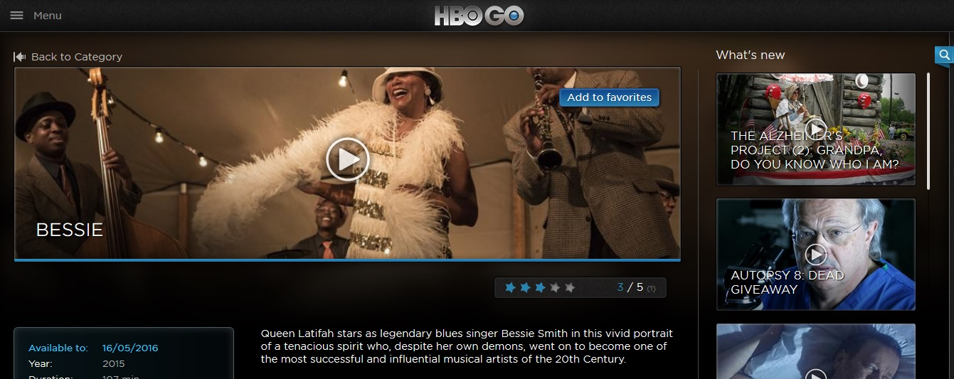 Sky Broadband HBO Go