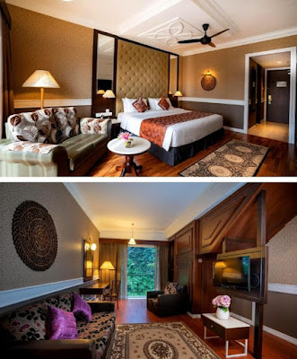 Century Pines Resort bilik penginapan