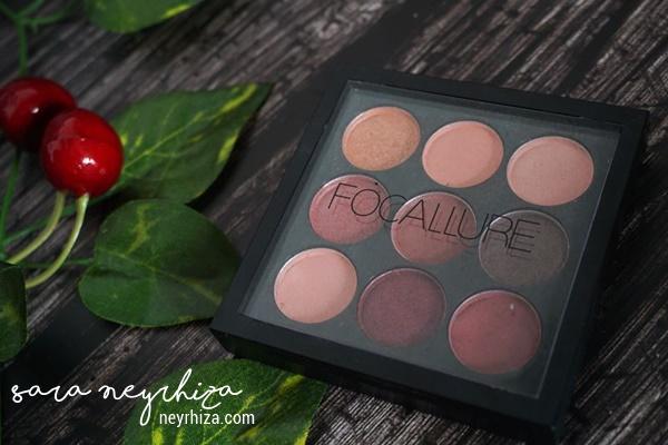Review Eyeshadow Focallure   Sara Neyrhiza - a Lifestyle