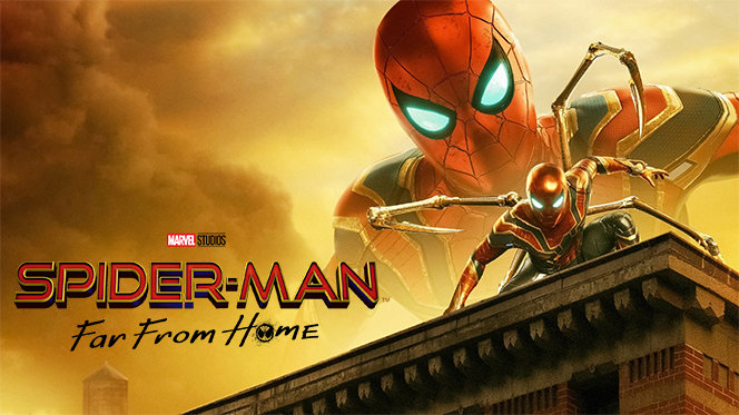 Spider-Man: Lejos de Casa (2019) BDRip Full HD 1080p Latino-Ingles