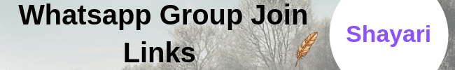 Hindi Shayari Whatsapp Group Join Links