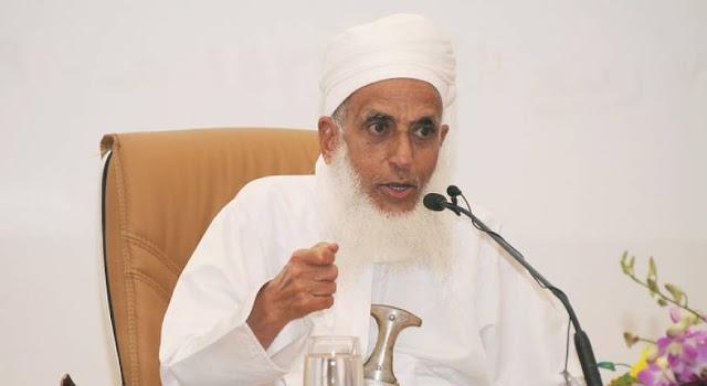 ما الذي أبكى مفتي سلطنة عمان وهو يتحدث عن النزاعات بين الجيران و الأخوة