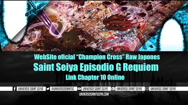 "Saint Seiya Episodio G: Requiem – Capitulo 10 – WebSite oficial ""Champion Cross"""