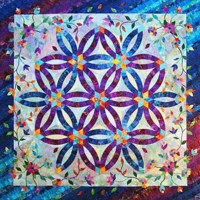 Quilt Inspiration Wedding Ring Quilts Part 2 Judy