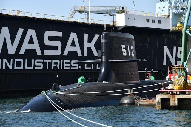 Toryu SS 512 (Fuente: JMSDF)