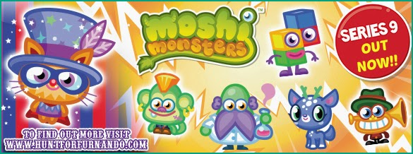 Moshi Monsters Series 9 Moshlings, Hunt of Furnando, Limited Edition Moshling