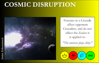 Cosmic Disruption