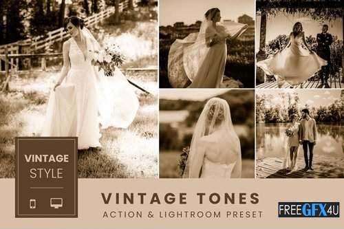 Vintage Tones Lightroom Preset