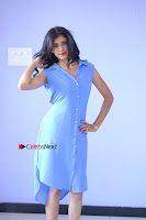 Telugu Actress Mounika UHD Stills in Blue Short Dress at Tik Tak Telugu Movie Audio Launch .COM 0113.JPG