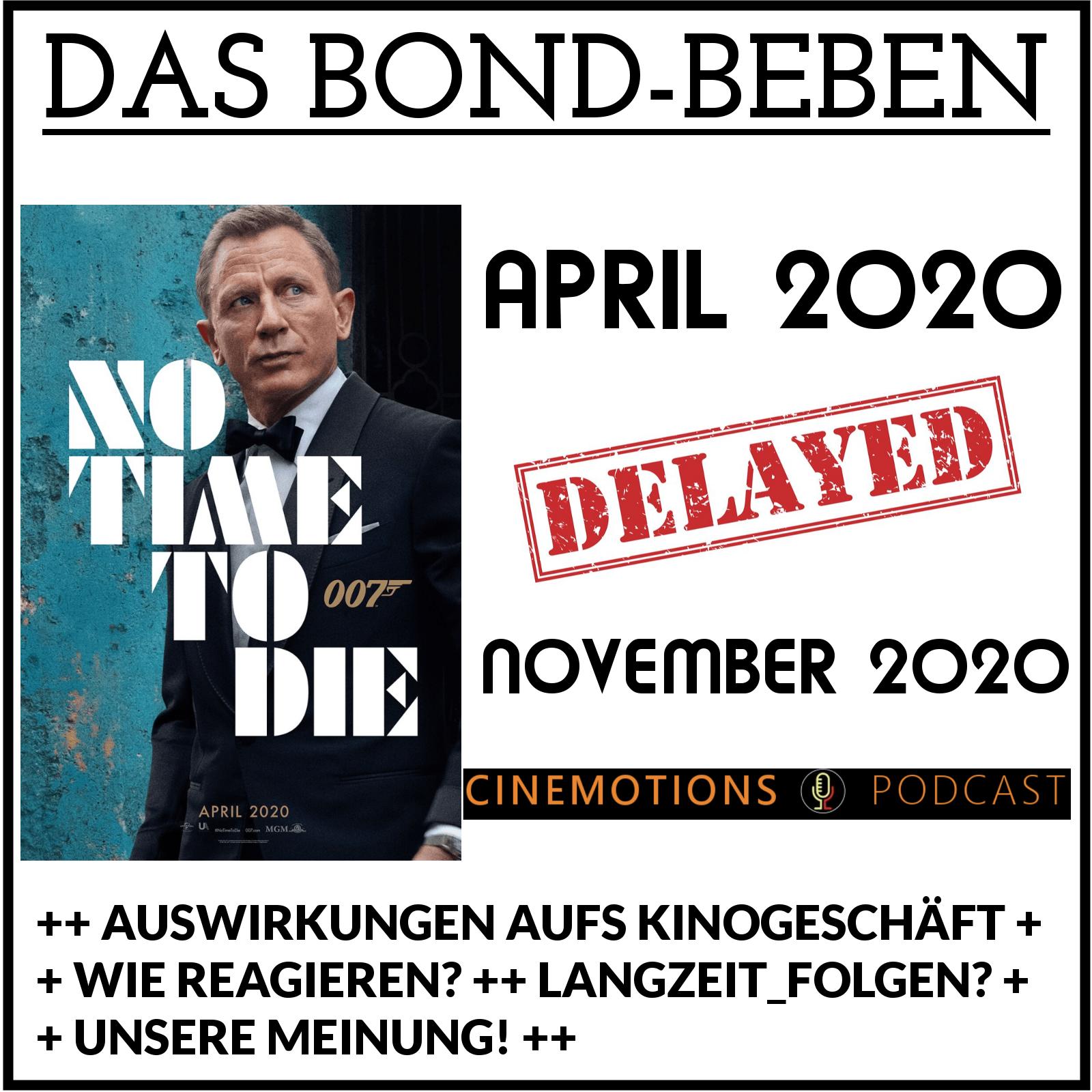 Das Bond-Beben!