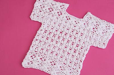 2 - Crochet Imagen Blusa blanca a crochet y ganchillo por Majovel Crochet