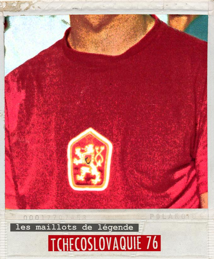 MAILLOT DE LEGENDE. Tchécoslovaquie 76.