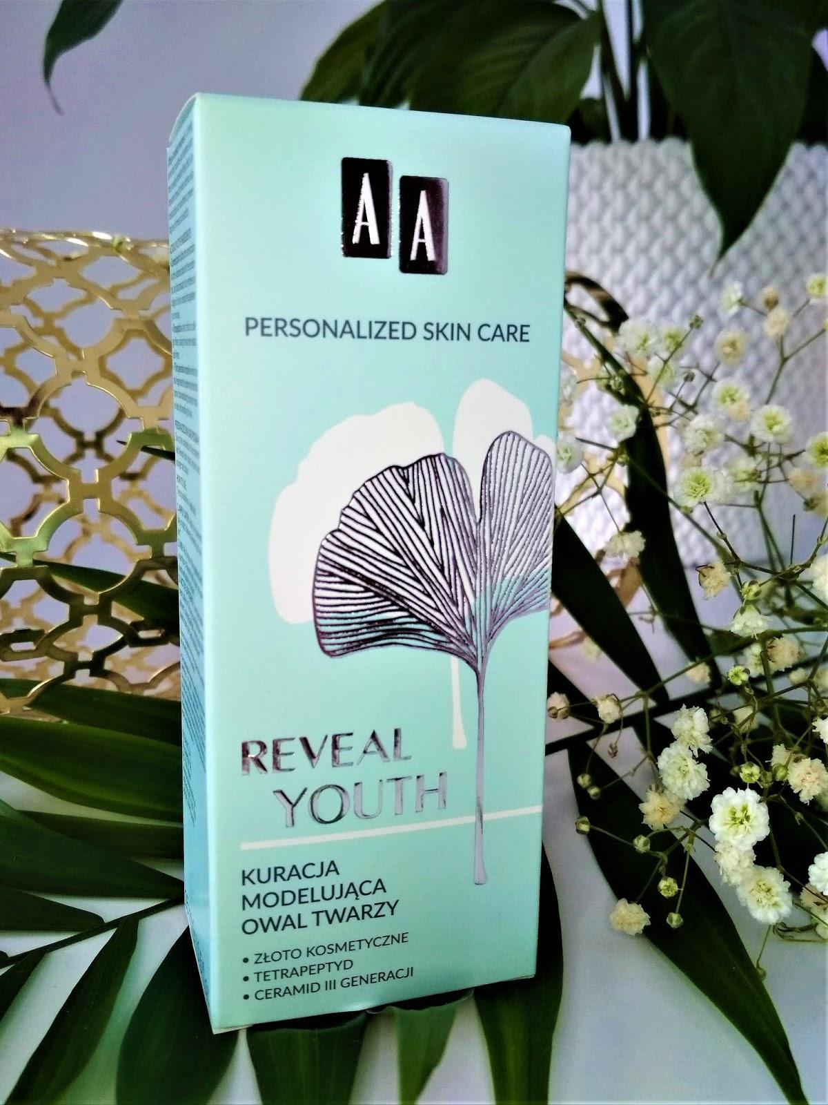 AA REVEAL YOUTH Krem antyoksydacyjny na dzień, Kuracja łagodząca zaczerwienienia i Kuracja modelująca owal twarzy, rumień emocjonalny, recenzja, recenzja kosmetyczna, pielęgnacja twarzy, kosmetyki, AA kosmetyki, AA cosmetics, aa oceanic, blog kosmetyczny, nowości kosmetyczne,