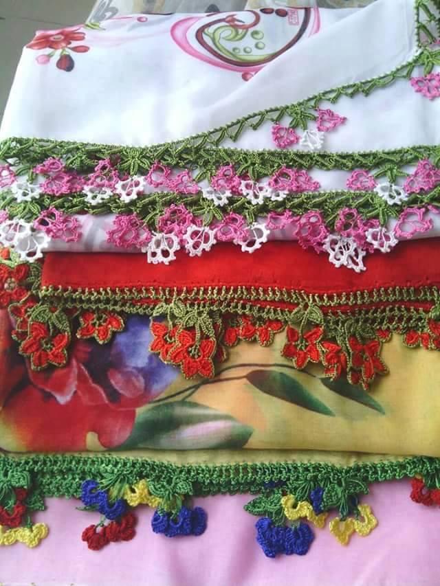 Mar a cielo puntillas crochet - Puntillas para cortinas ...