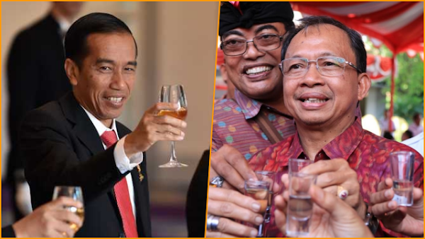 Industri Arak hingga Tuak Disahkan, Gubernur Bali Terima Kasih Kepada Presiden Jokowi