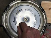 Removing the inner liner