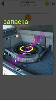 в багажнике автомобиля лежит обычное запасное колесо 7 уровень 400+ слов 2