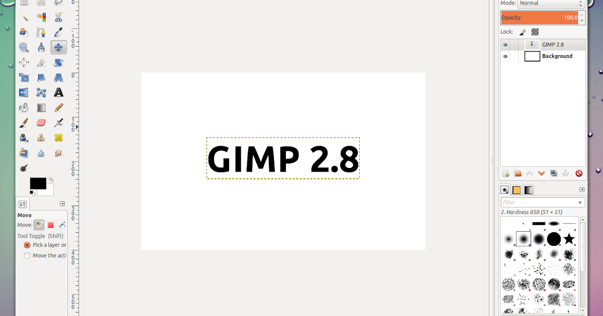 GIMP 2 8 (Stable) Finally Available For Download ~ Web Upd8: Ubuntu
