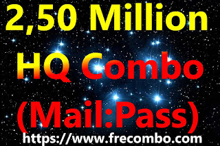 2,50 Million  - HQ Combo  (Mail:Pass)   [Netflix, Spotify, Hulu, Crunchy, Mycanal, uPlay, Steam, Origin, Deezer, Fortnite, Minecraft, Etc.]
