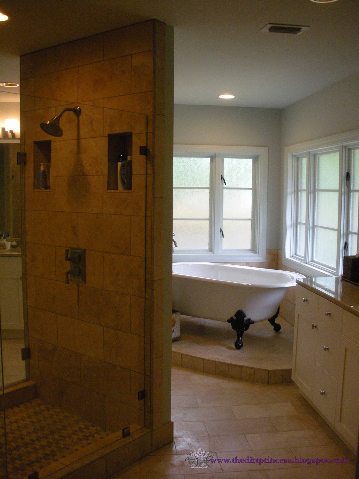 Dirt Princess Design Master Bath Addition