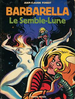 Cómic original de Barbarella en los años 60