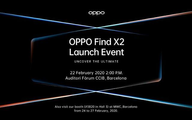 مواصفات، سعر وموعد إطلاق Oppo Find X2 و Oppo Find X2 Pro القادمين من أوبو.