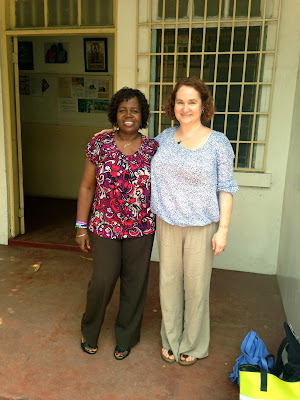 Serwah Quaynor and Shannon Rosa onsite at AACT.